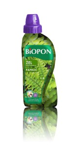 Biopon żel nawóz do paproci 0,5l