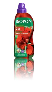 Biopon żel nawóz do pelargonii 1l